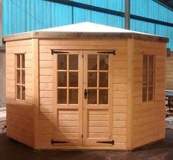 Corner Garden Summer House (8' x 8')
