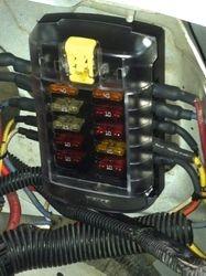 Marinizing fuze box