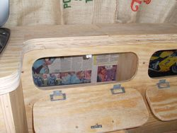 VW T2  Mild Rat Interior, Side Unit