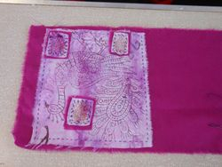 Joan's Kantha inspired fabric page...