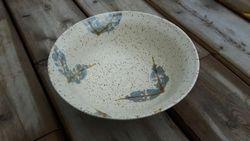 Leaf Stamped Bowl