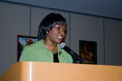 Mistress of Ceremony Beverly White of NBC 4
