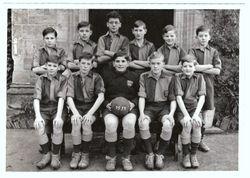 1st XII Football team 1957