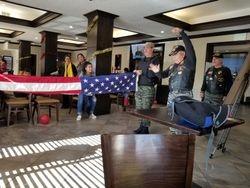 FLAG FOLDING AND FLAG ETIQUETTE