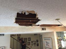 Water Damage/ Popcorn Ceiling