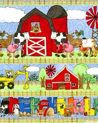 FARM ANIMALS - COTTON - 60