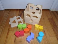 Toys R Us Wooden Shape Sorter - $10