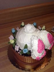 Bunny Bum Cake