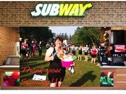 Subway contest winner