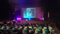 at Magoffin Auditorium