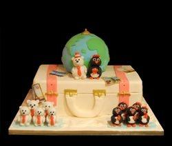 Wedding cake for world travelers :)