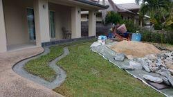 Landscaping/ Rock wall Garden Edging