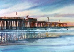Pismo Pier (View from Beach)