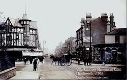 Hamstead Road and Villa Road. 1905.