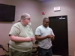 Michael Baker and Allen Bloomfield