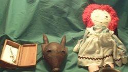 Mask, Nadine and Bracelet