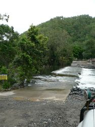 Bloomfield river in flood