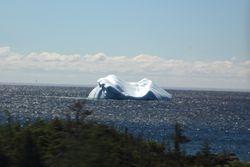 Iceberg from Labrador coast