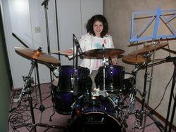 Leor in a recording studio