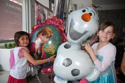 Our frozen friends join us