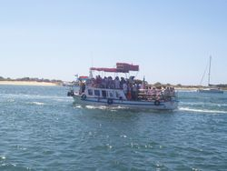 Ferry to Ila de Tavira Beach