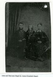 John, Mary Ann and Annie Magill