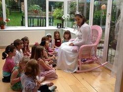 Fairy Sophie begins her story...