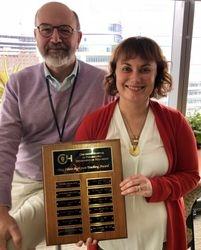 2018 Meg Teaching Award Winner
