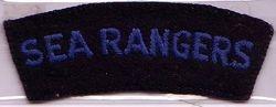 Sea Ranger Shoulder Badge