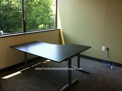 ikea galant table installation service in Washington DC