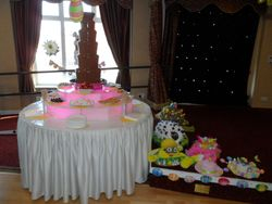 Easter party chocolate fountain hire Sheffield