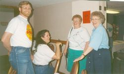 Hospitality room in Fort Worth 1994