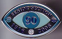 2006 Senior Section Jubilee Metal Badge