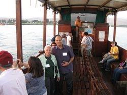 En el bote