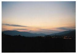 Achill Sound at dusk