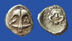 c200 BC Greek, Apollonia Drachm