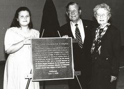 Senator John Drummond and Holly Self Drummond