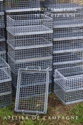 #24/287 Industrial German Metal Crates A FEW LEFT