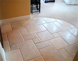 tile natural stone floor wood