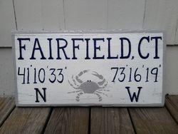 Fairfield, CT w/ crab