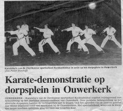 Demo in Ouwerkerk