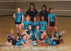 2012 KC Lady Jags 13U