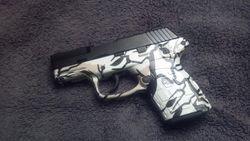 Kel Tec 9mm in Predator Winter White