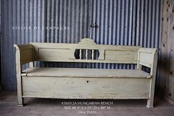 #28/012A HUNGARIAN BENCH