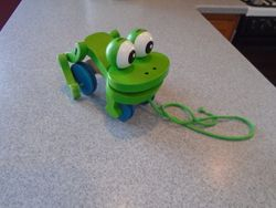 Melissa & Doug Frolicking Frog Pull Toy - $12
