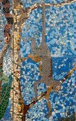 Dangling Monkey Mosaic (detail)