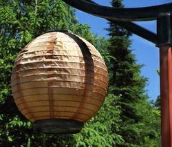 LL Bean Chinese solar lantern