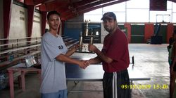 Hilal Jundi 1st place Corozal Tournament