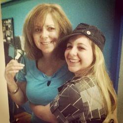 Mrs Bobbie with Jenna!