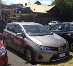 Driving School Keilor Downs - Toyota Corolla Hatch - Automatic Transmission